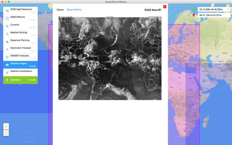 Screenshot 5 for PredictWind Offshore