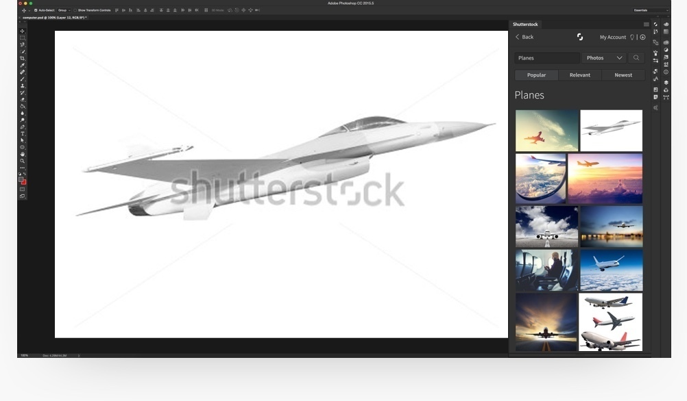 Screenshot 2 for Shutterstock