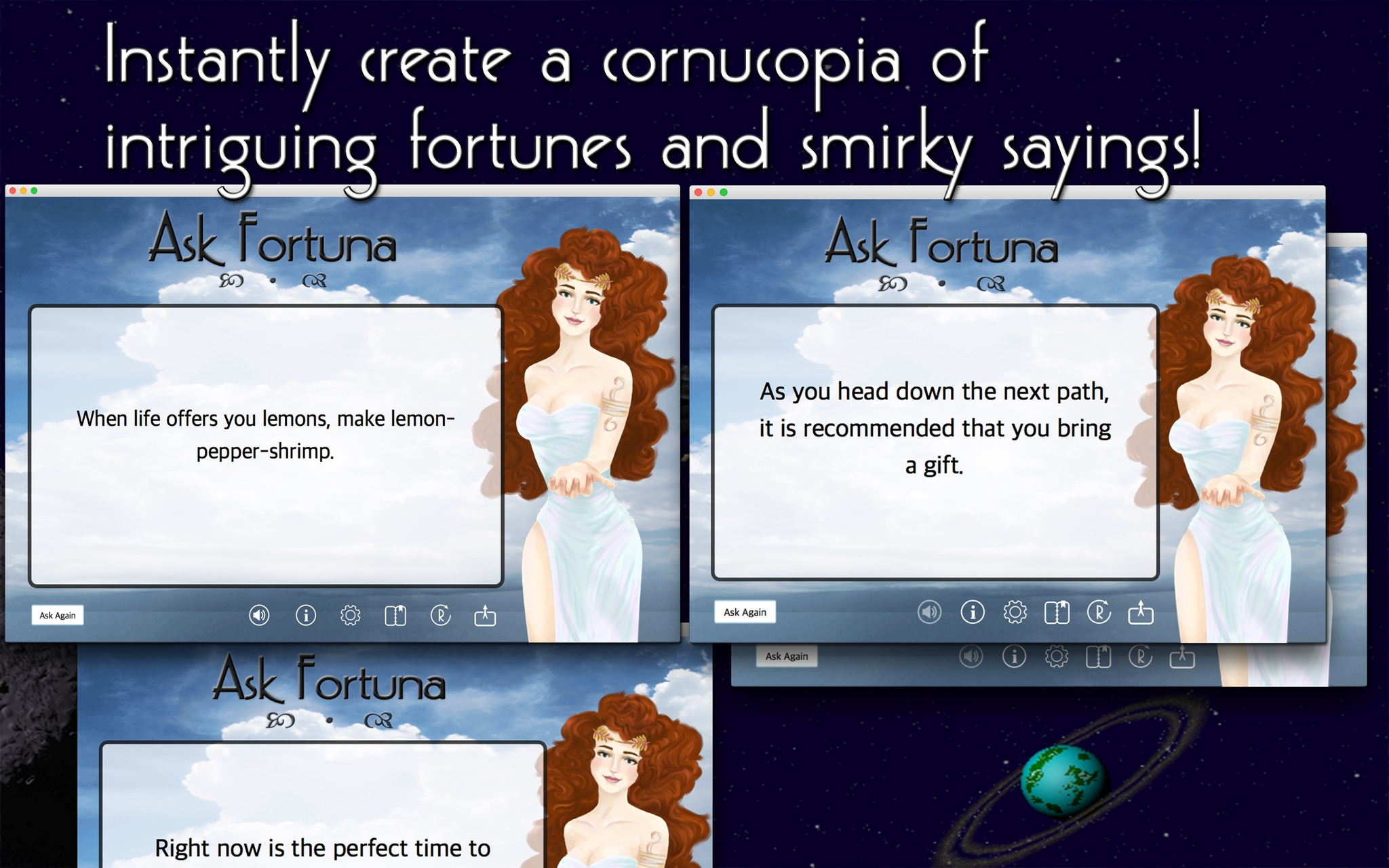Screenshot 1 for Ask Fortuna
