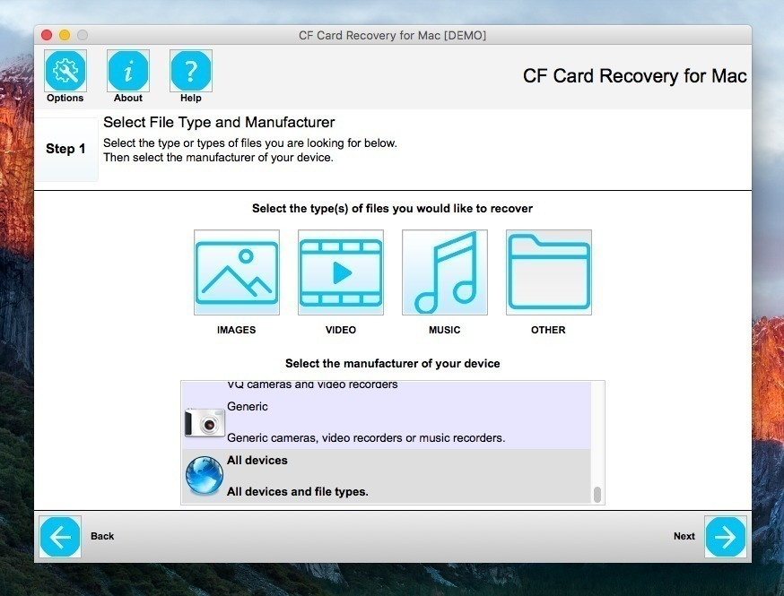 Screenshot 3 for CF Card Recovery