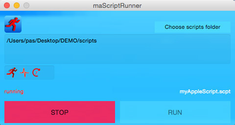 Screenshot 1 for maScriptRunner