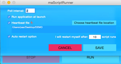 Screenshot 2 for maScriptRunner