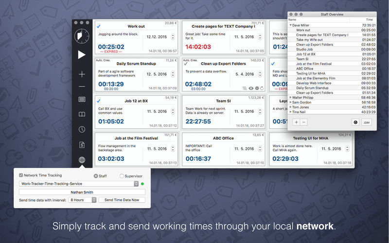 Screenshot 5 for Work Tracker