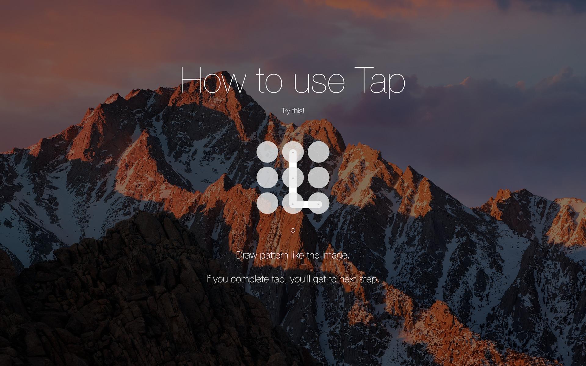 Tap for Mac 1.5.11 破解版 – Mac手势解锁工具-麦氪派