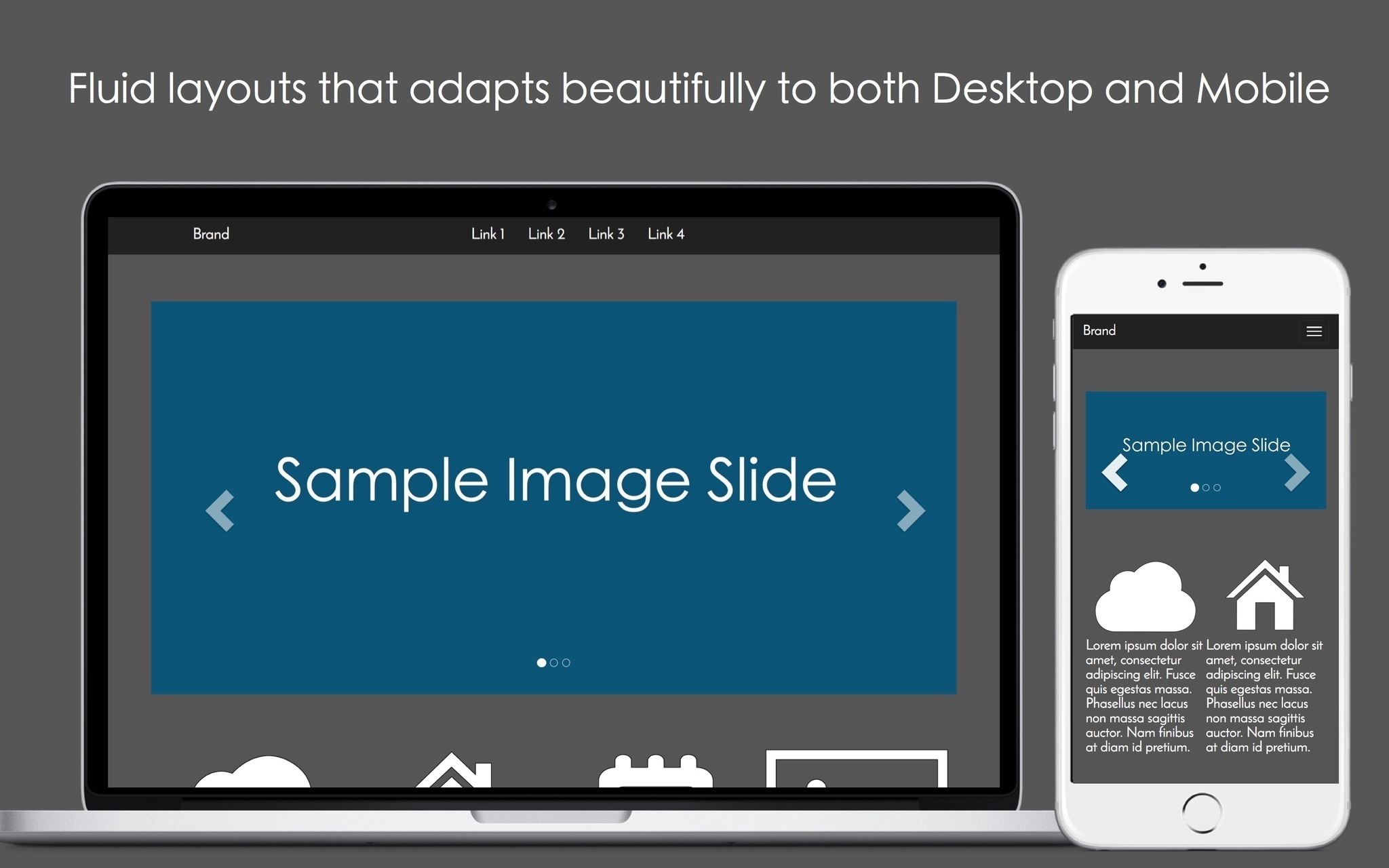 Screenshot 3 for Mobile Web Page Templates