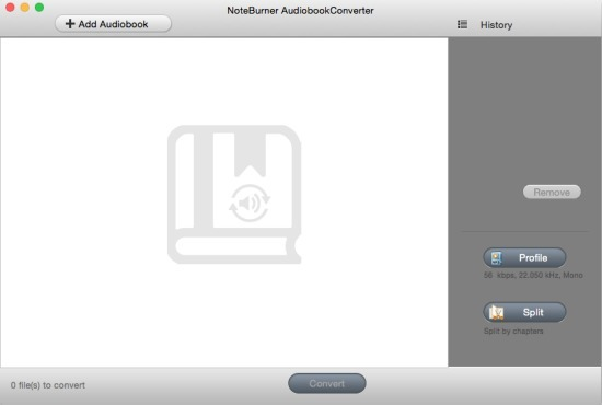 Screenshot 2 for NoteBurner Audiobook Converter