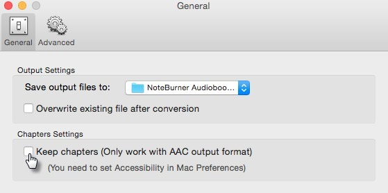 Screenshot 3 for NoteBurner Audiobook Converter