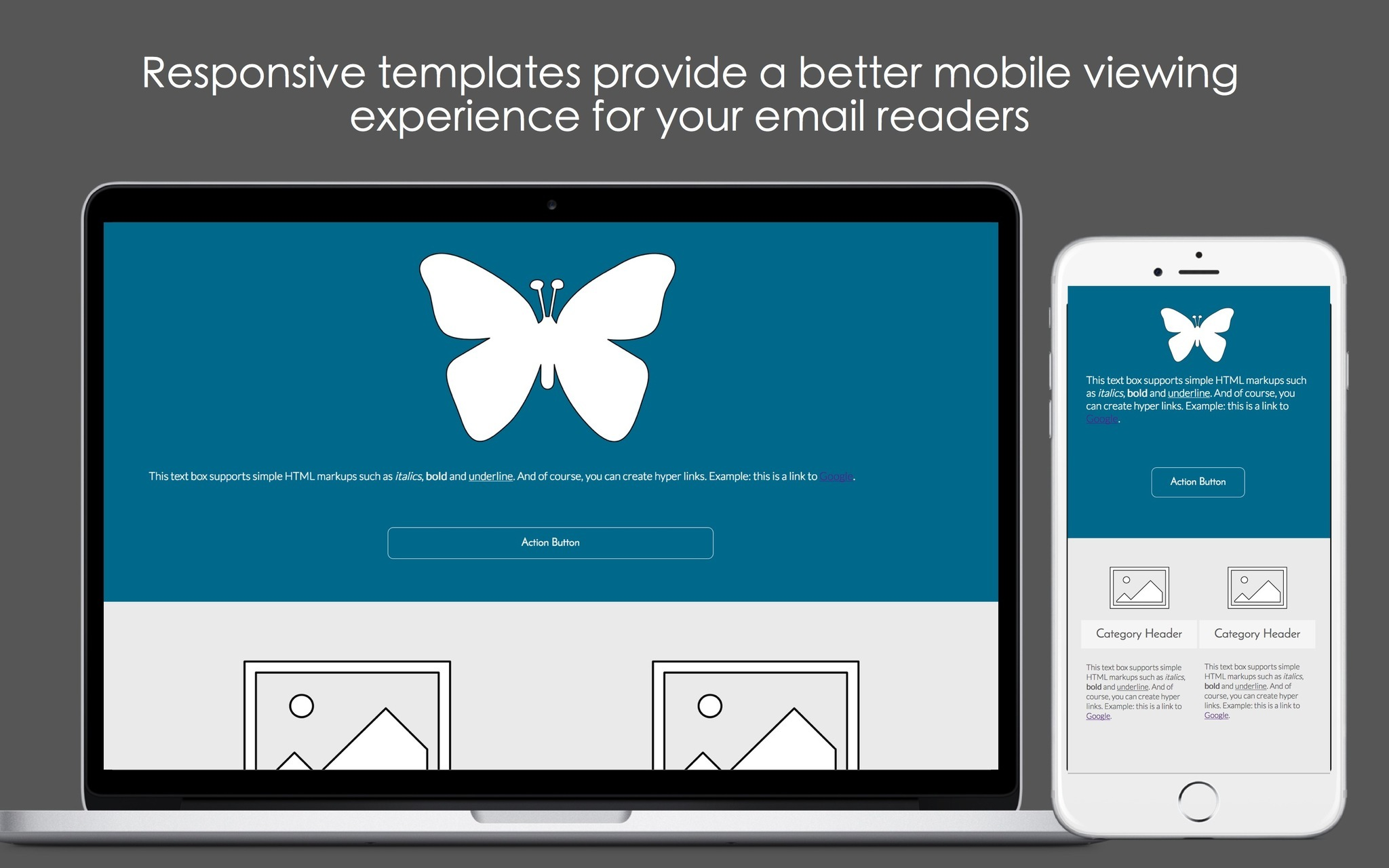 Screenshot 5 for Mobile Email Templates