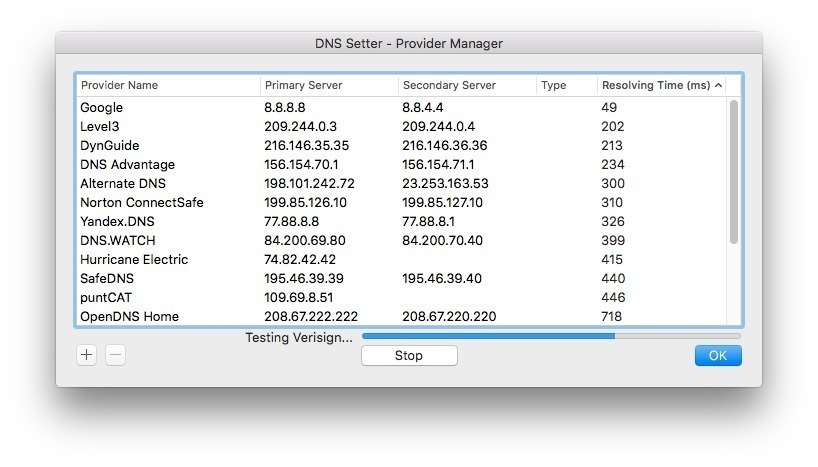 Screenshot 3 for DNS Setter