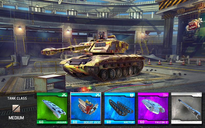 Screenshot 2 for Infinite Tanks