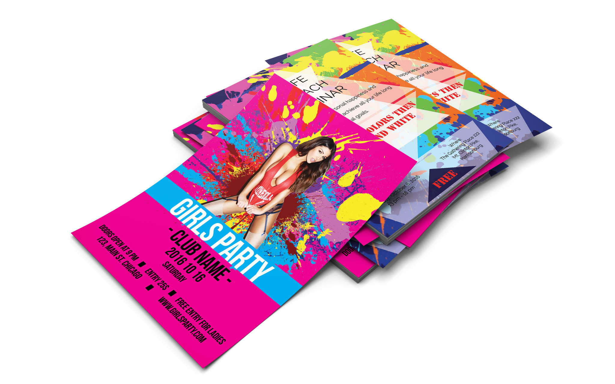 Screenshot 2 for Flyer Templates for InDesign