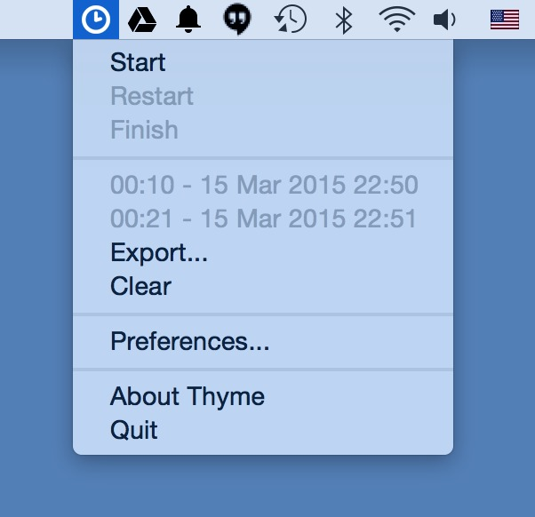 Screenshot 1 for Thyme