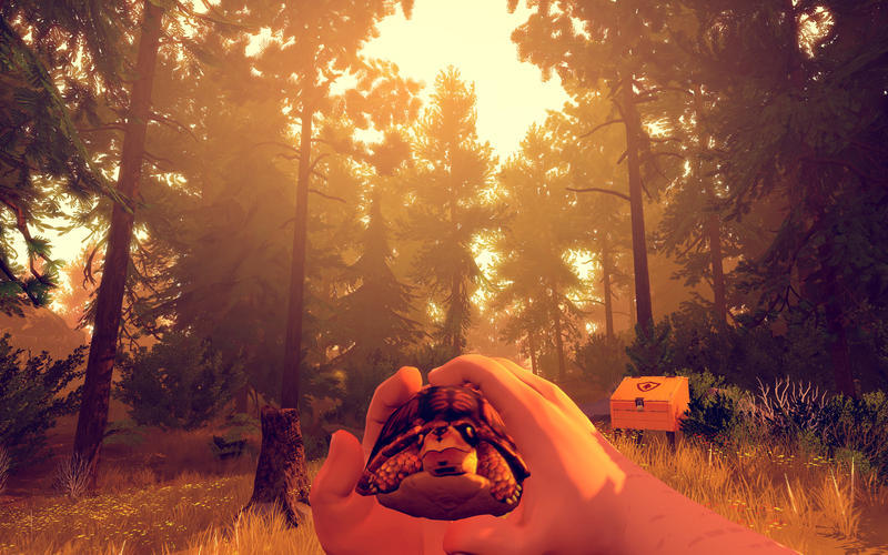 Screenshot 1 for Firewatch