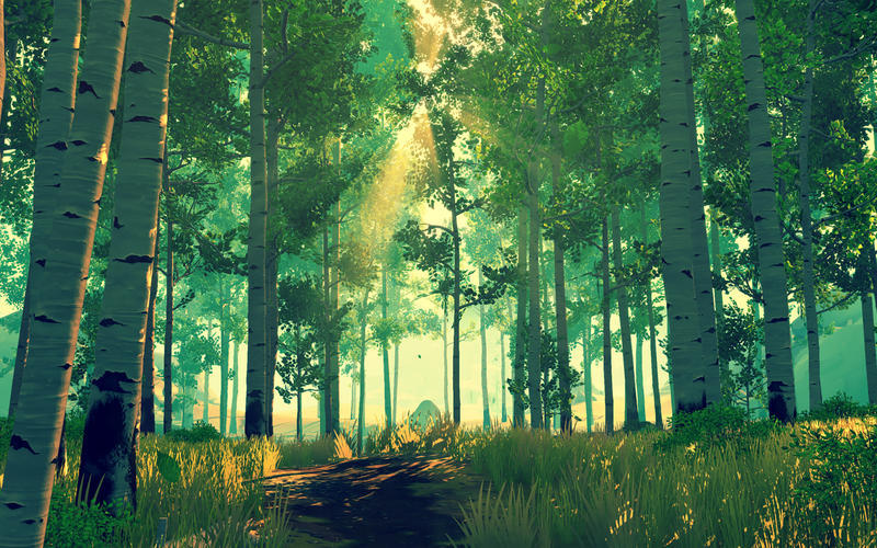 Screenshot 2 for Firewatch