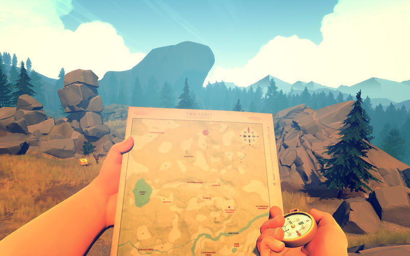 Screenshot 4 for Firewatch