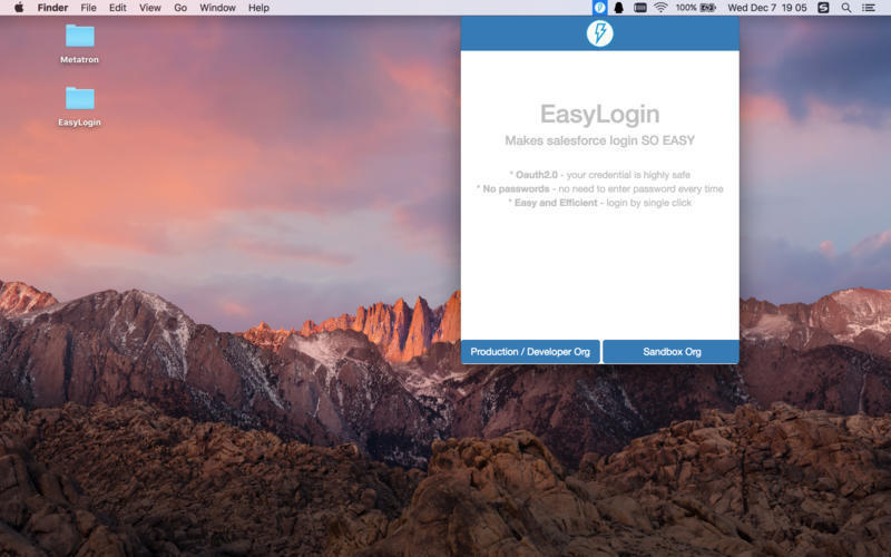 Screenshot 1 for EasyLogin