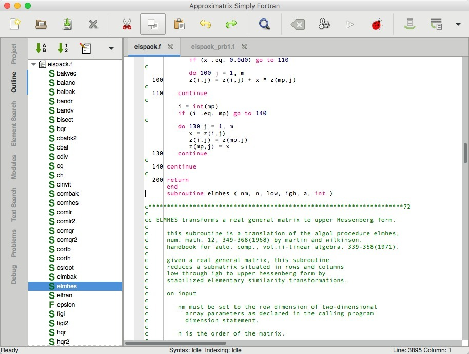 Screenshot 4 for Simply Fortran