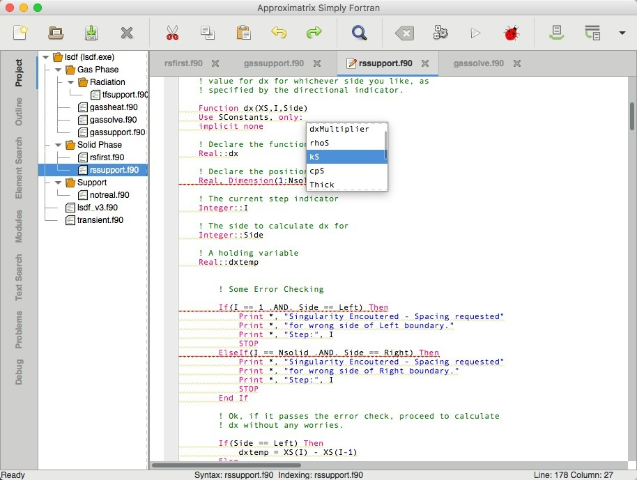 Screenshot 5 for Simply Fortran