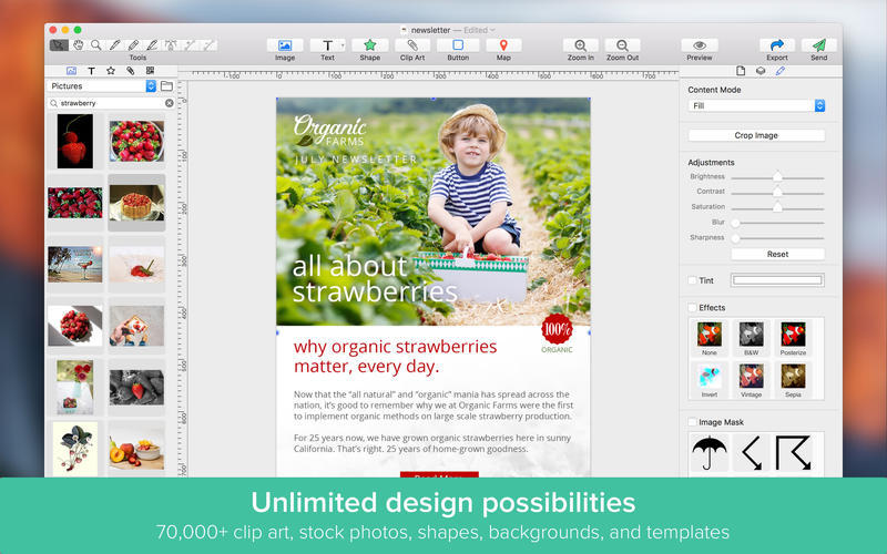 Screenshot 3 for Email Designer Pro