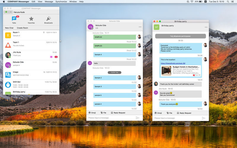 Company Messenger 1 7 3 free download for Mac | MacUpdate