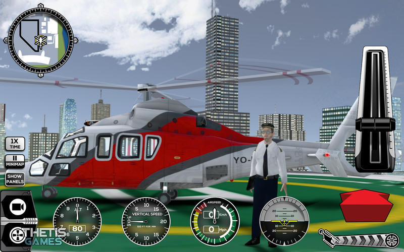 Screenshot 2 for Helicopter Simulator Premium