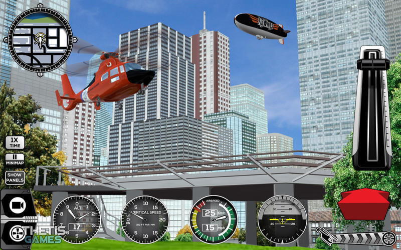 Screenshot 4 for Helicopter Simulator Premium