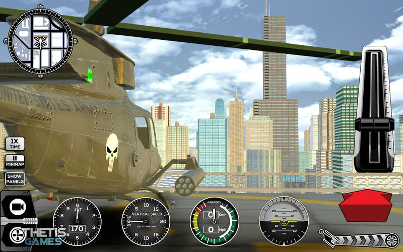 Screenshot 5 for Helicopter Simulator Premium
