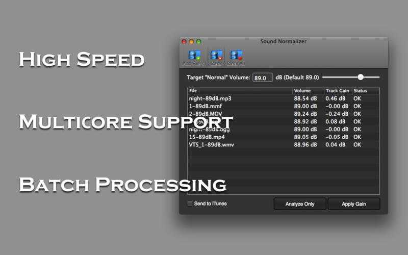 Screenshot 2 for Sound Normalizer