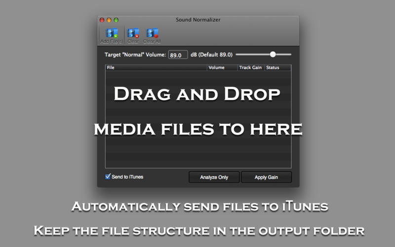 Screenshot 3 for Sound Normalizer