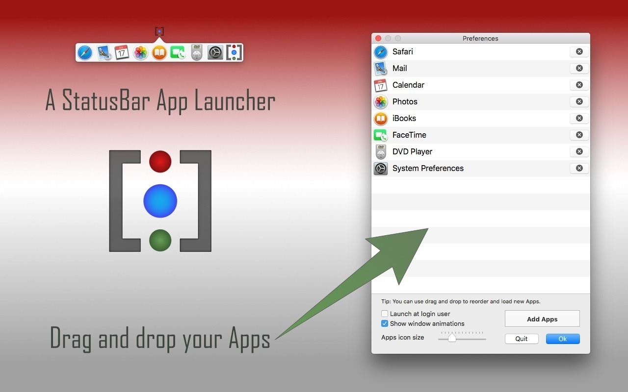 Screenshot 1 for iBARLauncher