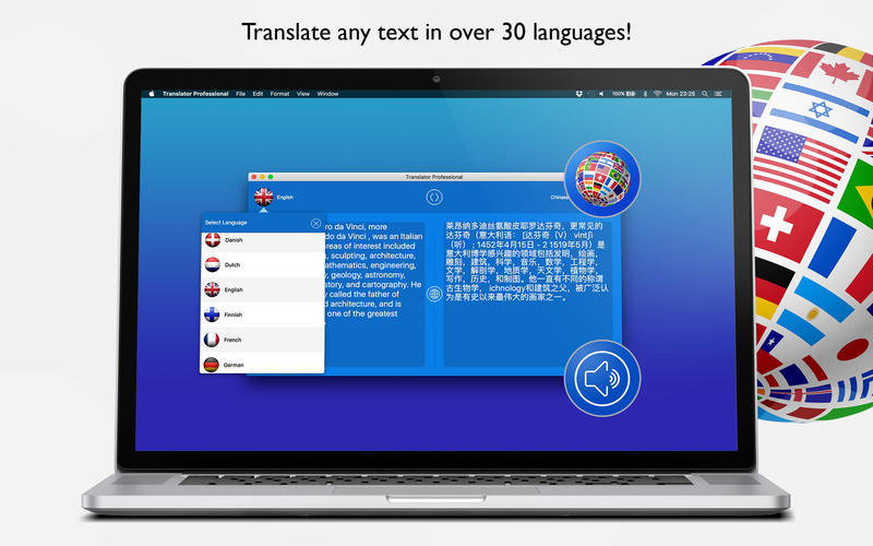 Screenshot 2 for Translator Professional