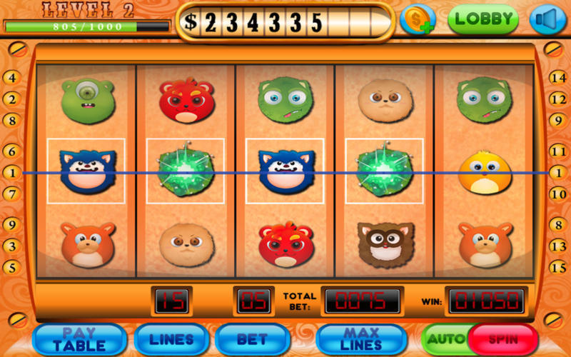 Screenshot 1 for Slot Win Casino Master