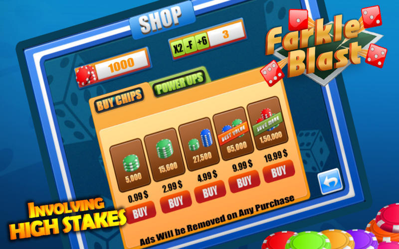 Screenshot 3 for Farkle Blast