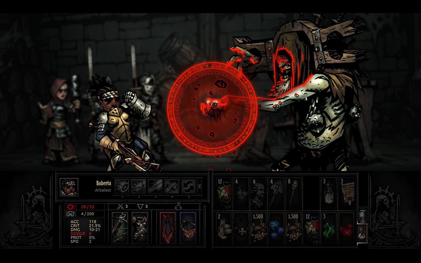 Screenshot 1 for Darkest Dungeon