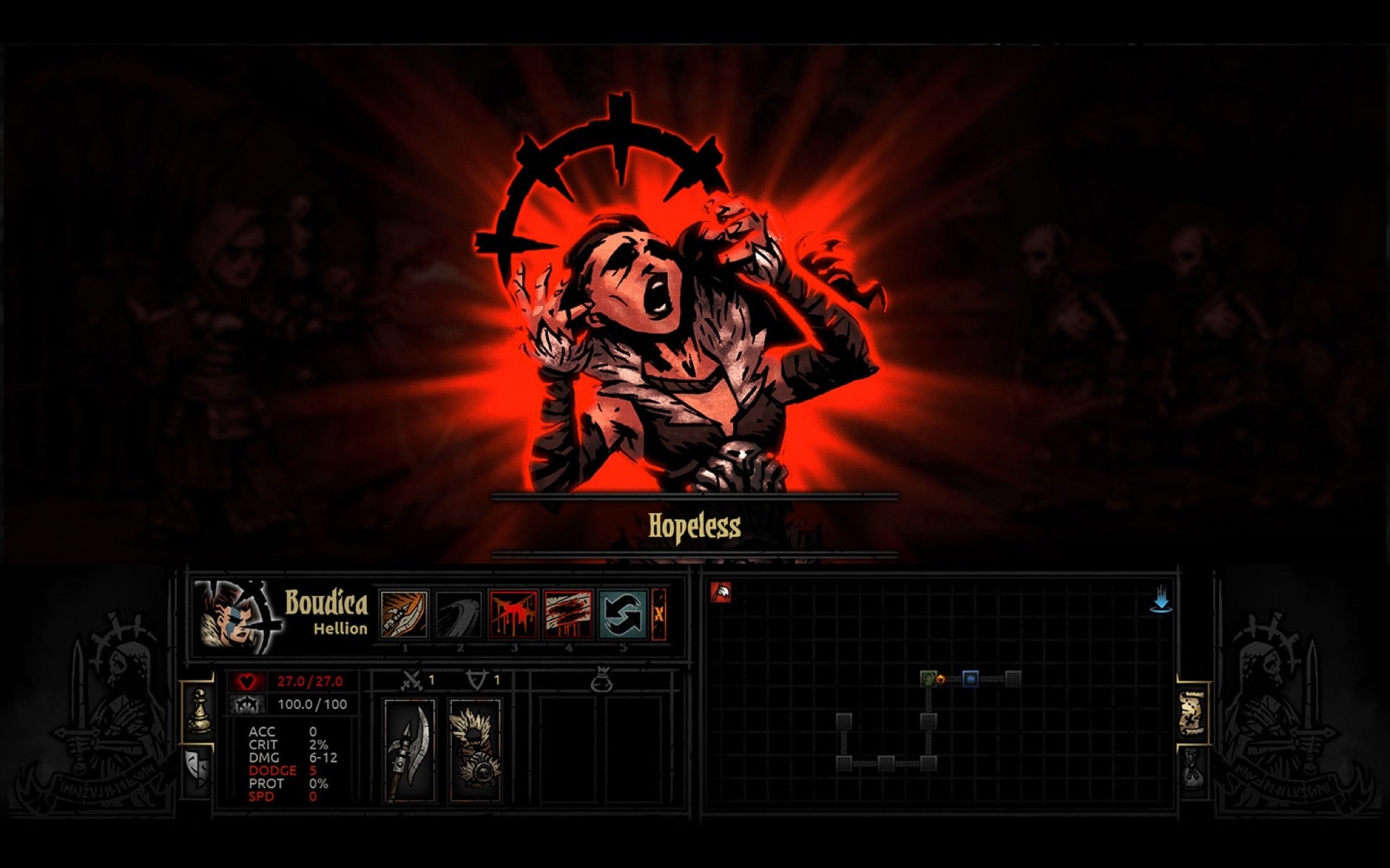 Screenshot 2 for Darkest Dungeon