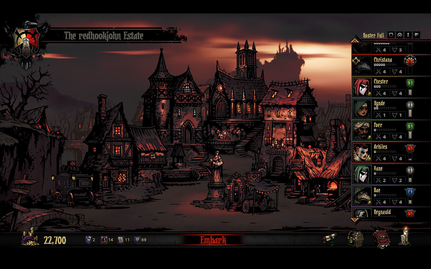 Screenshot 3 for Darkest Dungeon