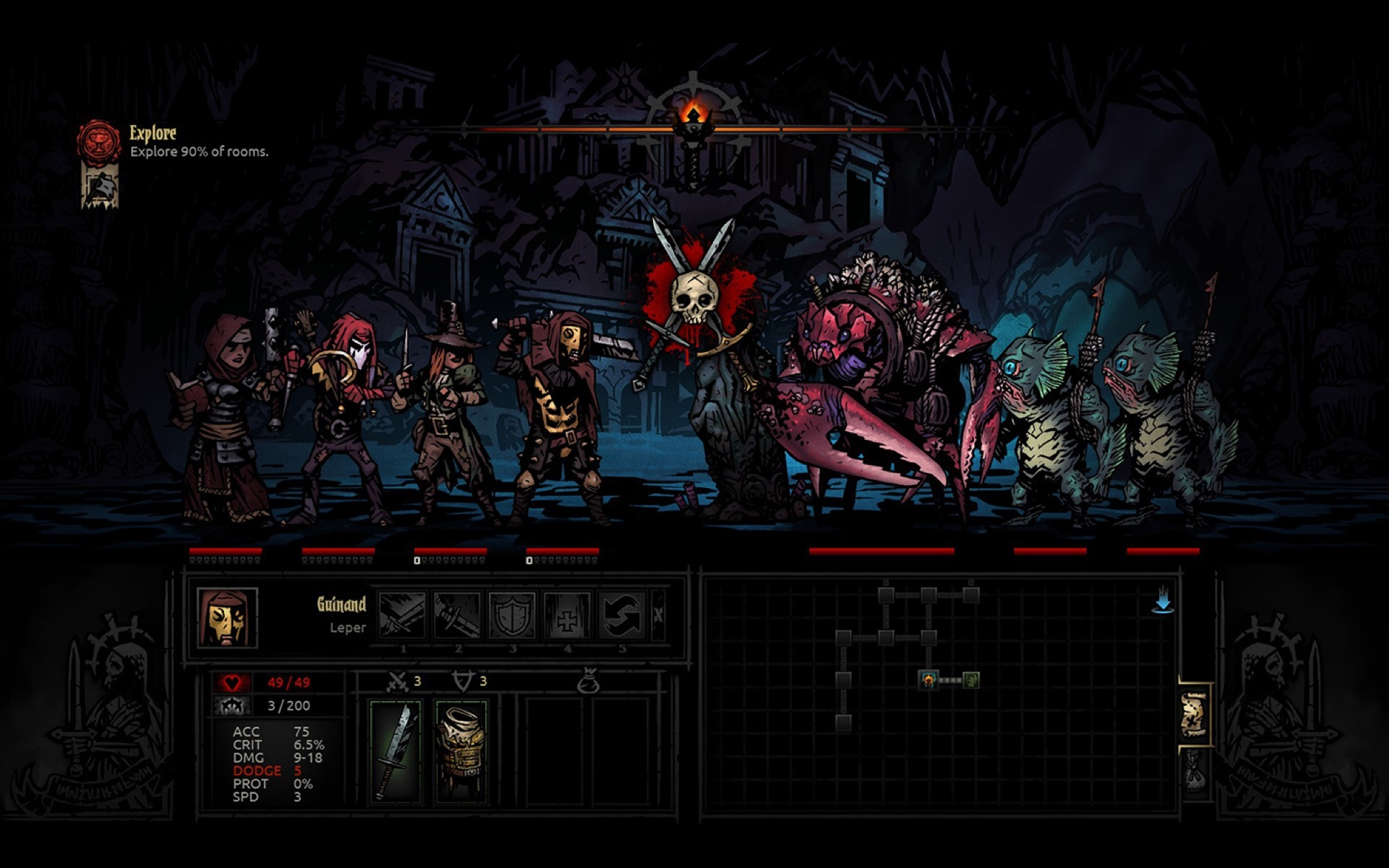 Screenshot 4 for Darkest Dungeon