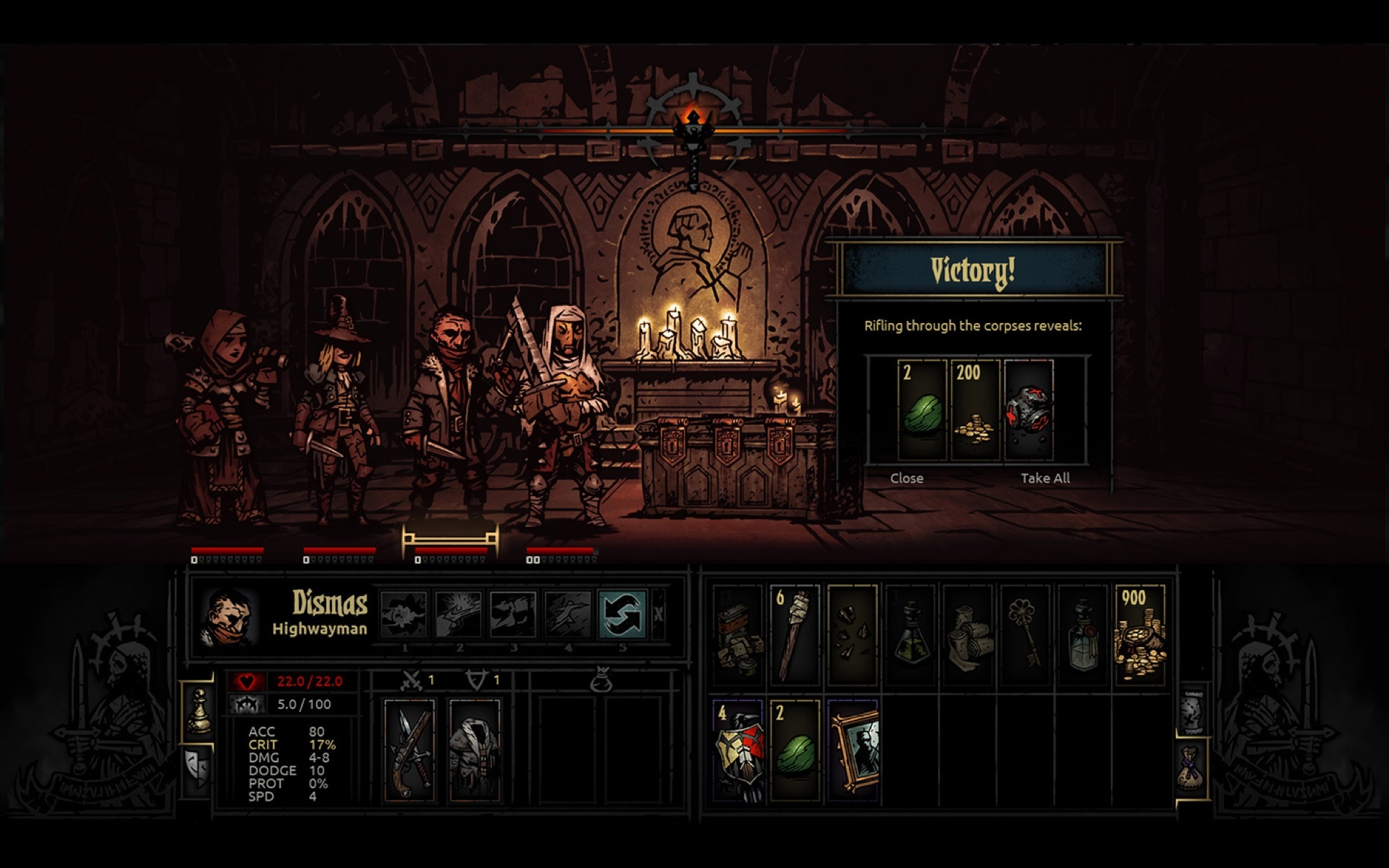 Screenshot 5 for Darkest Dungeon