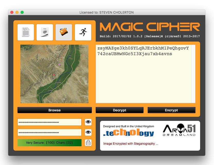 Screenshot 1 for Magic Cipher