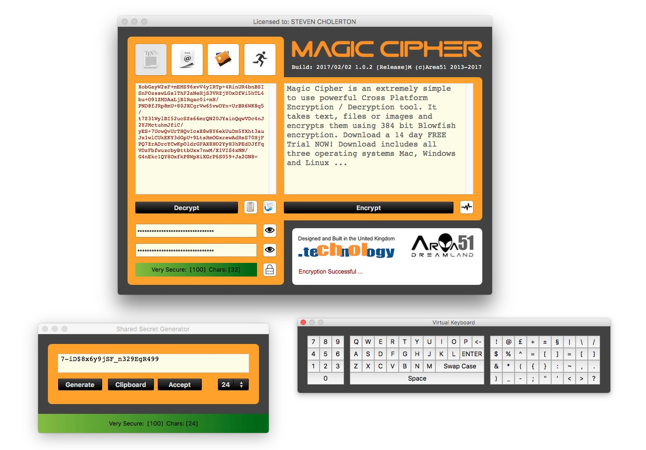 Screenshot 2 for Magic Cipher