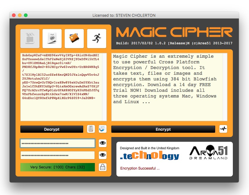 Screenshot 5 for Magic Cipher