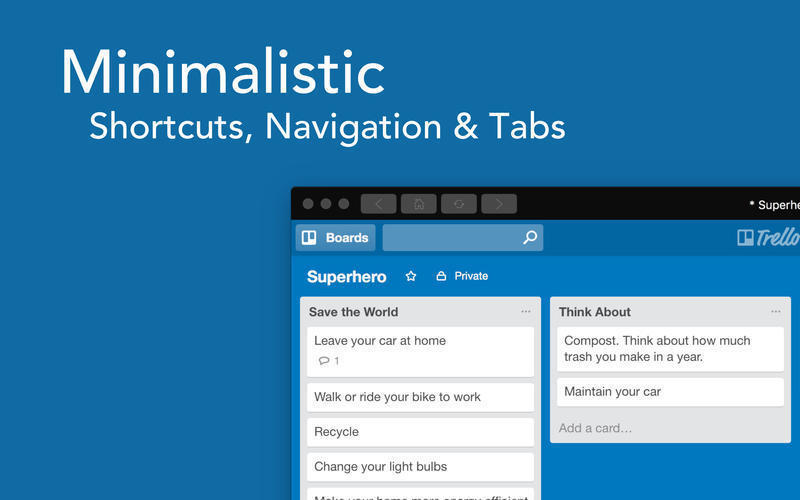 Screenshot 2 for Boards for Trello