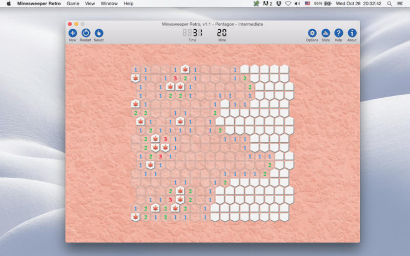Screenshot 2 for Minesweeper Retro