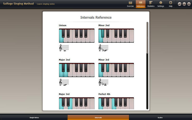 Screenshot 3 for Solfege Singing Trainer
