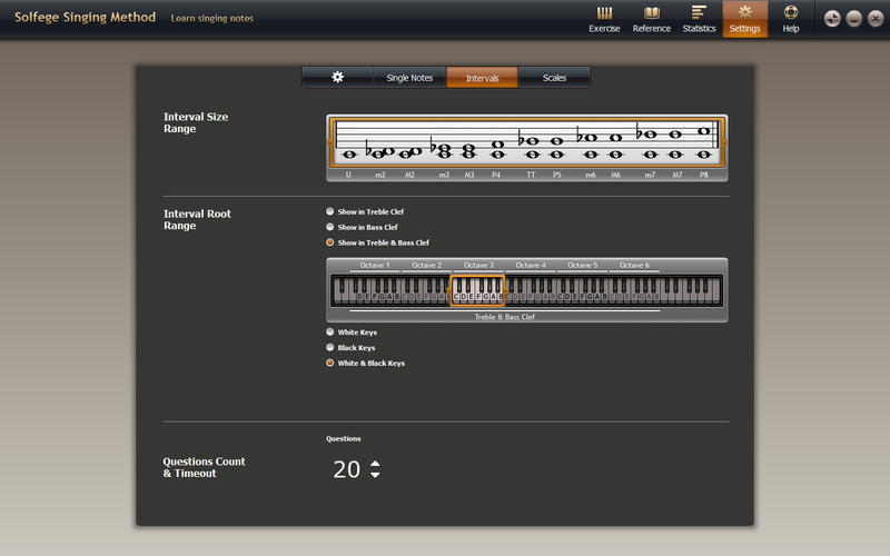 Screenshot 4 for Solfege Singing Trainer