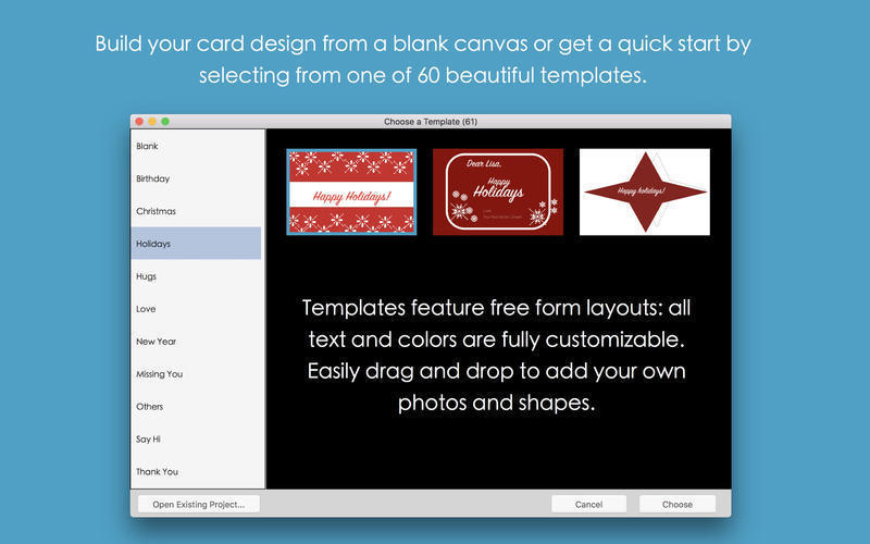 Screenshot 4 for Blue Penguin eCard Templates