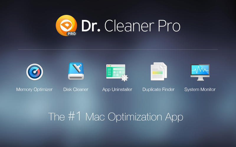Screenshot 1 for Dr. Cleaner Pro