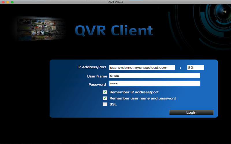 Screenshot 1 for QVR Client