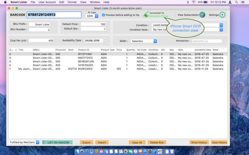 Screenshot 2 for Smart Lister