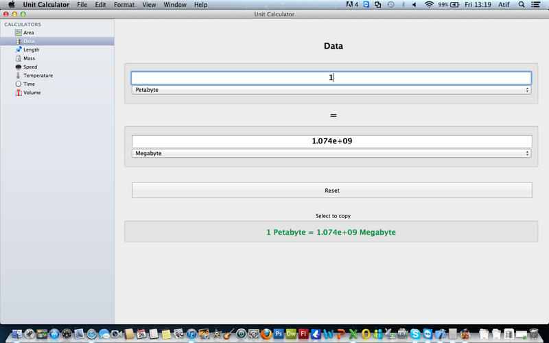 Screenshot 2 for Unit Calculator